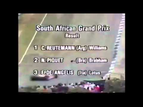 Reutemann win in South Africa gp 1981 formula 1stripped of championship  by magistar