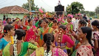 2021 Teej Beautiful Girls Bai Lok Super Dance // Teej Grand Celebration at Gandhi Nagar