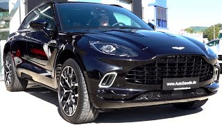 2021 Aston Martin DBX - AMG V8 DNA Review BRUTAL Drive Sound Interior Exterior SUV