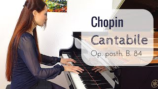 Chopin - Cantabile Op. posth. (B.84) | PianoTube