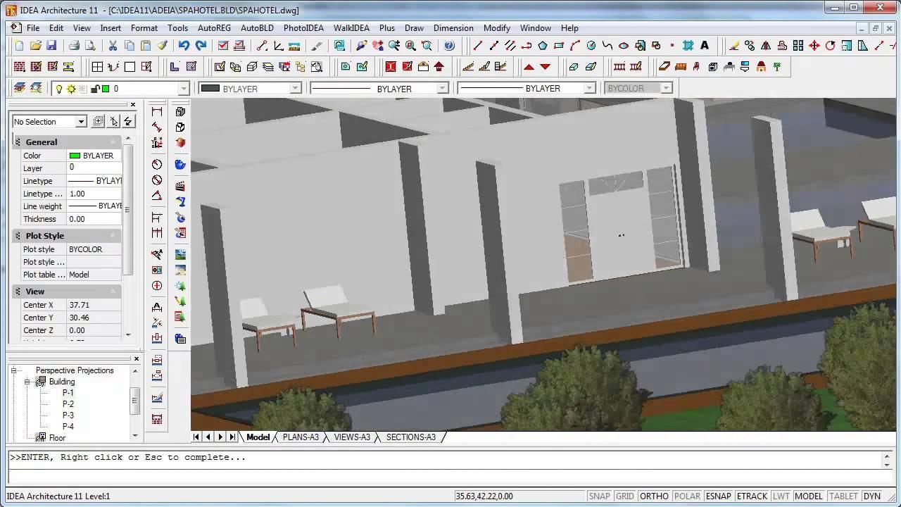 Arquitectura 3d y renderizaci n nuevas funciones for Programa para planos en 3d
