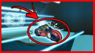 THE BEST TIP TO DO WITH THE NEW MOTORCYCLE IN JAILBREAK - ROBLOX