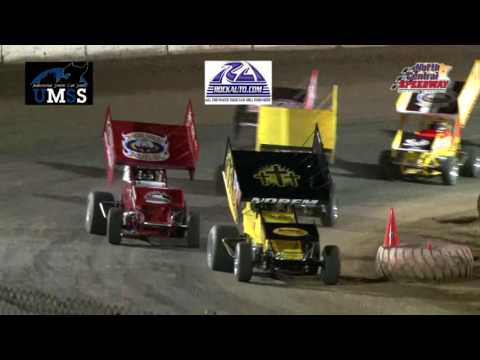 6-18-2016 UMSS Sprints North Central Speedway
