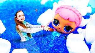 Лол катается на коньках. Видео для девочек. Мультики с куклами