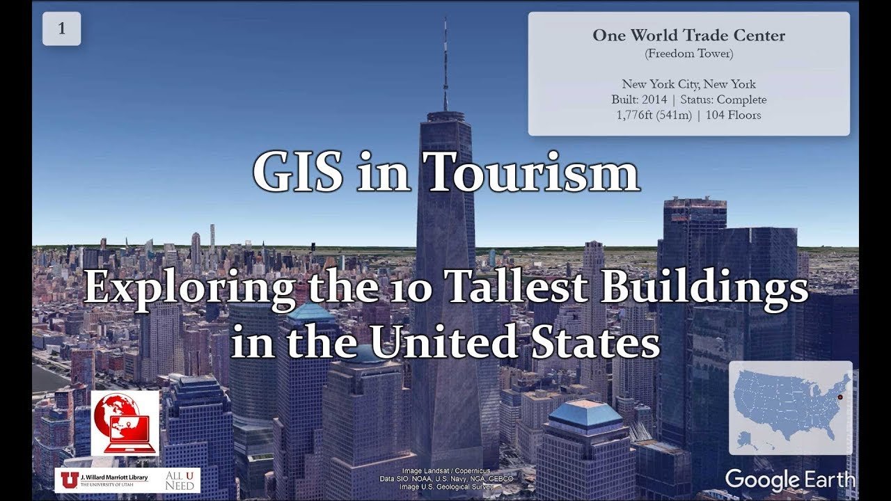 GIS in Tourism: Exploring the 10 Tallest Buildings in the United States