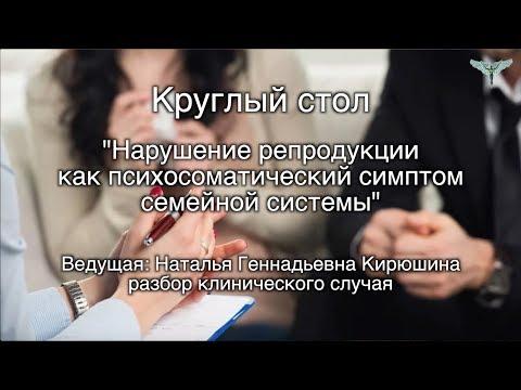 Разбор клинического случая (семейная система) на круглом столе 2.11.17 Кирюшина Наталья Геннадьевна