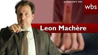 Leon Machère verurteilt - 32.500 Euro wegen Polizistenbeleidigung | Rechtsanwalt Christian Solmecke