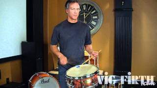 Drag Paradiddle #1: Rudiment Breakdown by Dr. John Wooton