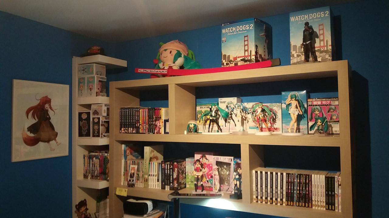 Ma chambre d 39 otaku youtube for Chambre otaku
