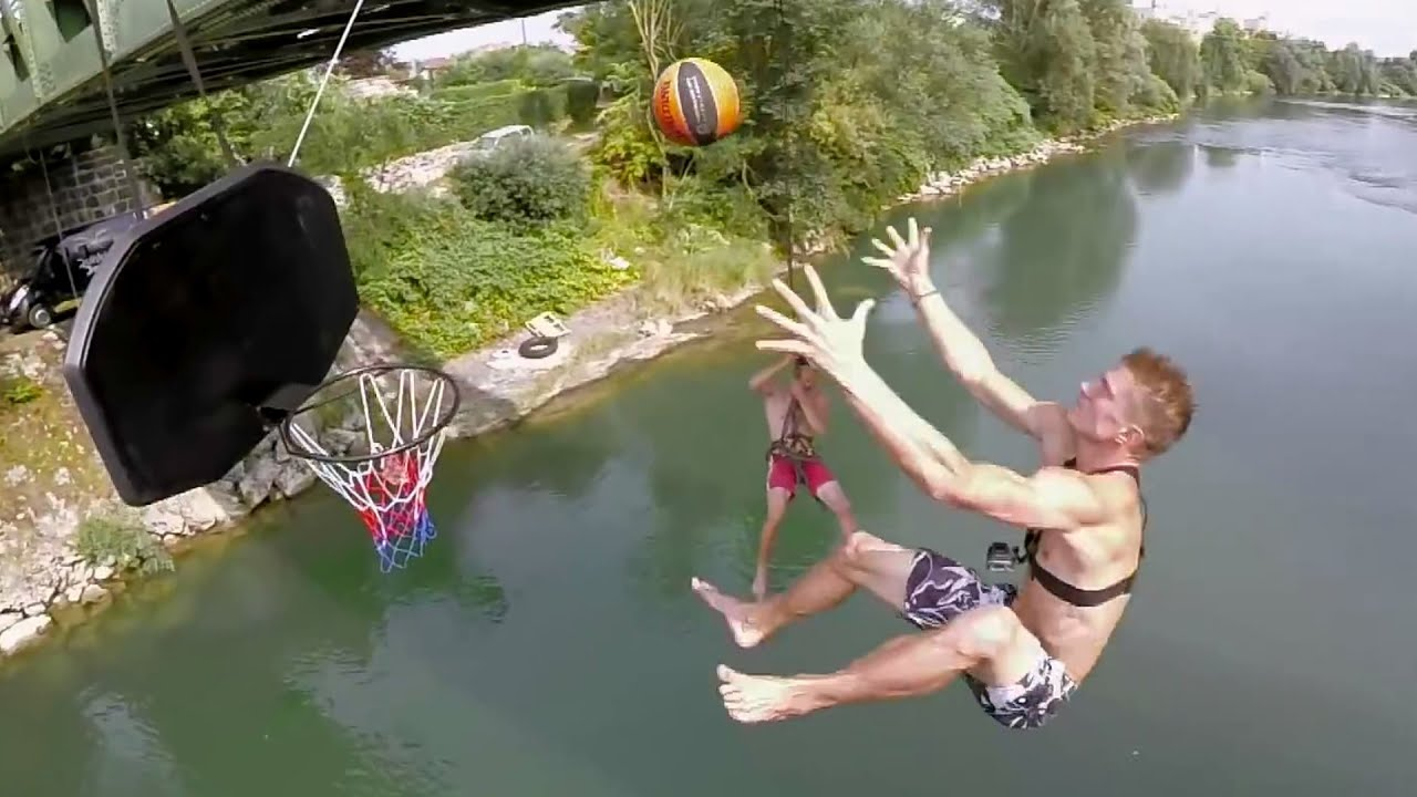Insane Basketball Trick Shots 2016 | Dunking Devils