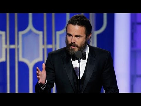 Casey Affleck Wins Best Actor in a Drama For 'Manchester By The Sea' At 2017 Golden Globes