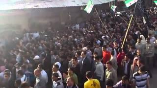 تشيع شهداء المدينة 5-4-2012