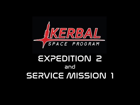 Space Station K1 - Expedtion 2 and Service Mission 1