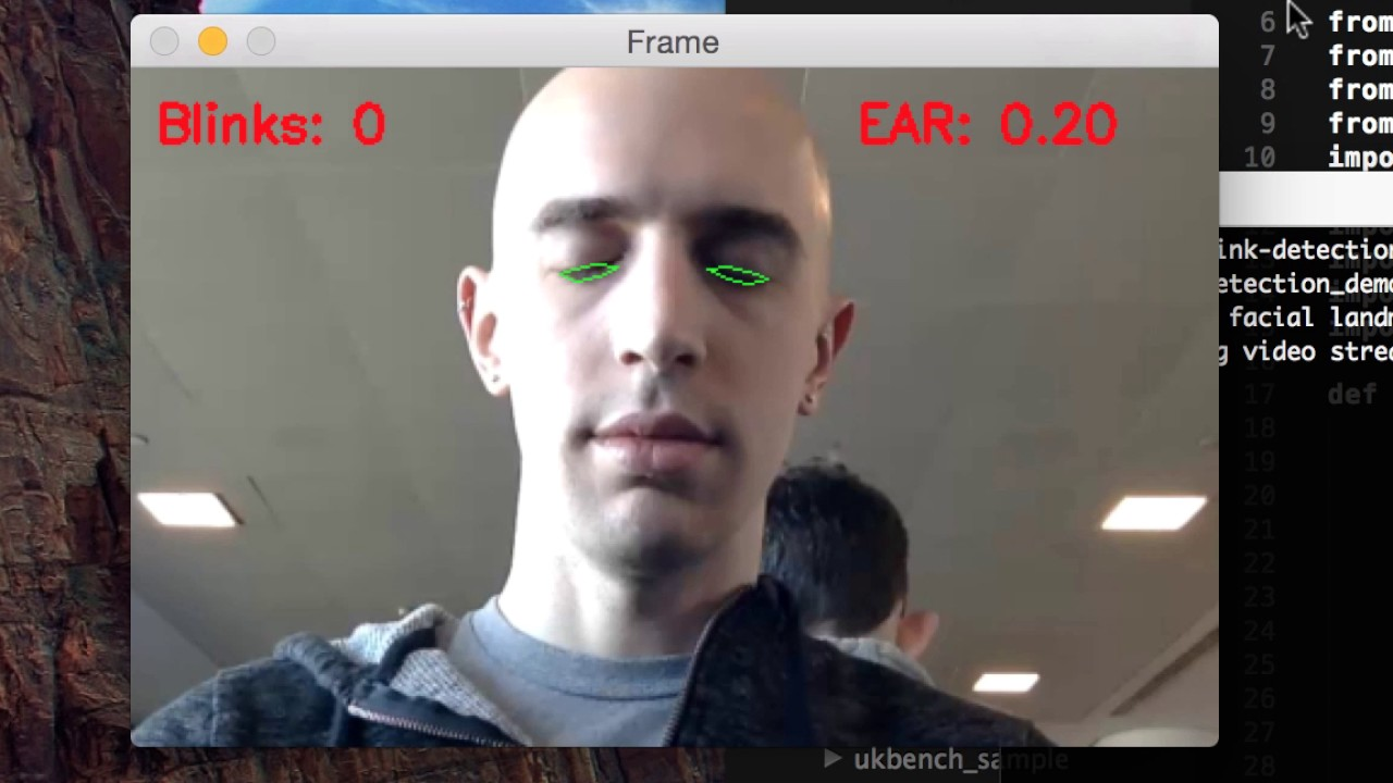 Eye blink detection with OpenCV, Python, and dlib - PyImageSearch