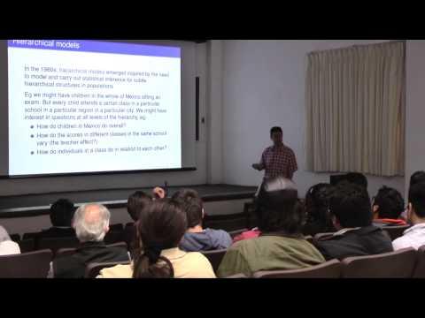 "Conferencia ""The Bayesian computational revolutions"", por Gareth Roberts"