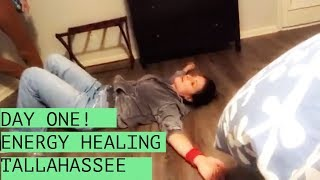 Day 1 - Energy Healing!: Healing Lyme disease with LymeLight Journey