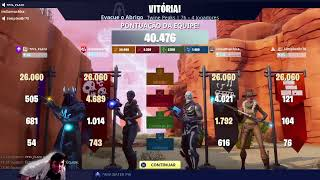 Vbucks, 4x of lightning and eye, missions progression and coupons at Fortnite Save the world TMJ. Part 3