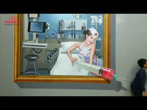 SERU BANGET! Buat Foto Seru Unik Keren di Amazing Art World Bandung - Trick Eye Museum - 3D Picture