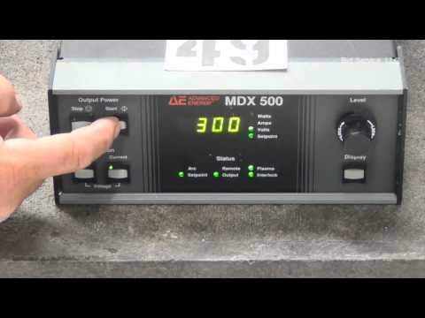 Advanced Energy MDX-500 Magnetron Power Supply #58682