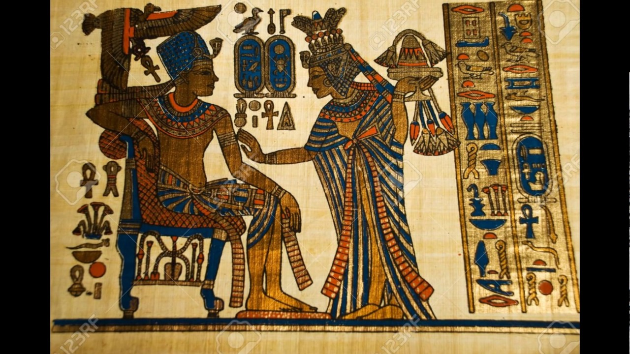 Ancient Egyptian Papyr...