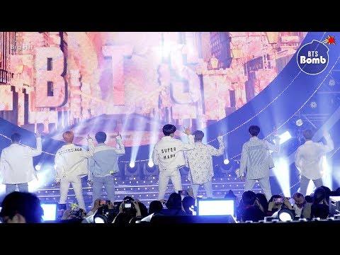 BANGTAN BOMB'S💣! SBS SUPER CONCERT 2019! (Stage Cam)