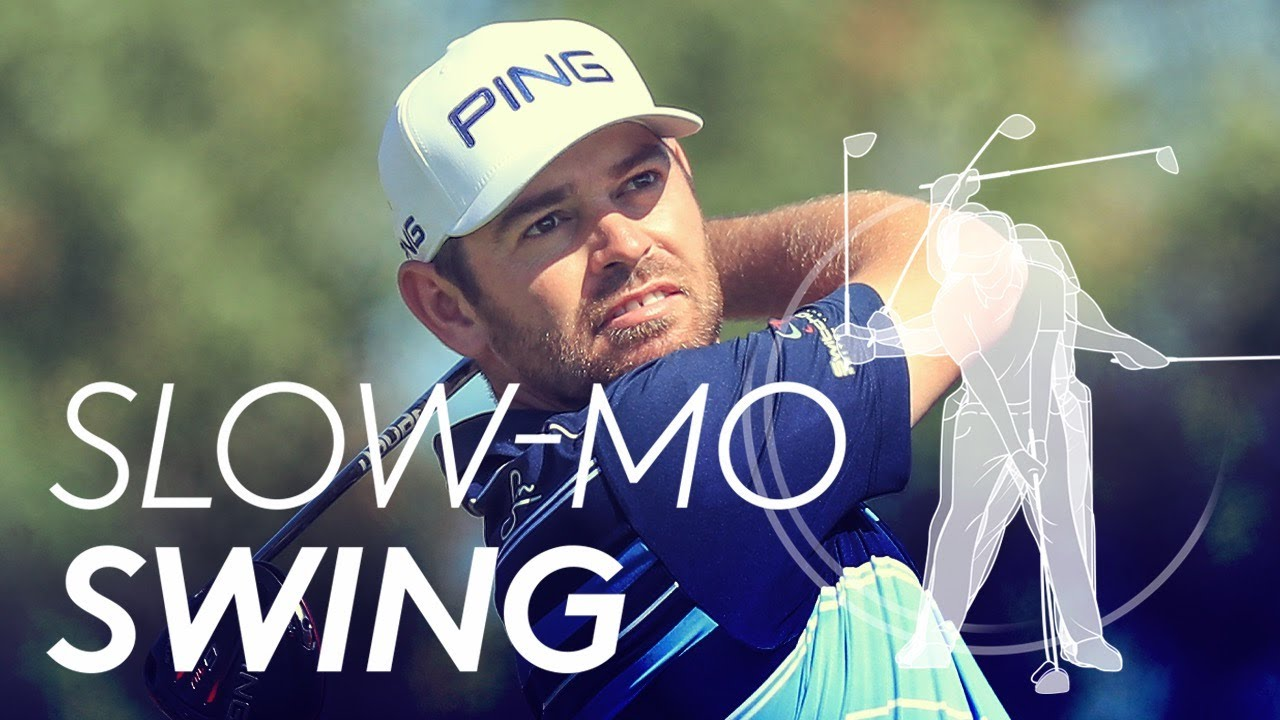 Louis Oosthuizen's golf swing in Slow Motion