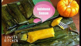 Kalabasa Suman Recipe