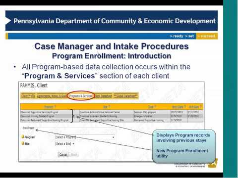 Case Manager and Intake Procedures Training - Core Features (Full)