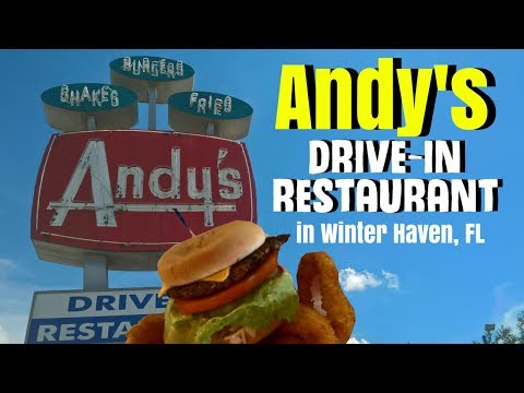 Andy's Drive In Restaurant In Winter Haven, Florida