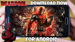 [40 MB] Download now Deadpool game for Android