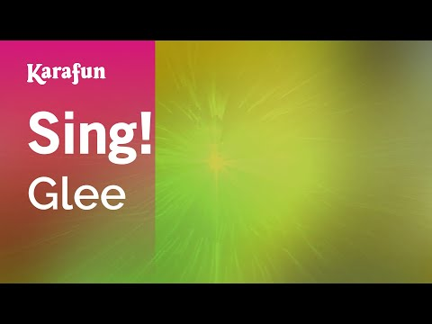 Karaoke Sing! - Glee *