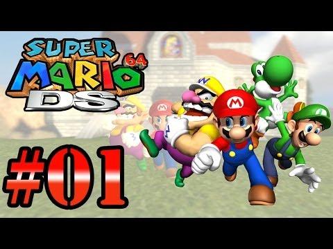 Let's Play: Super Mario 64 DS - Parte 1