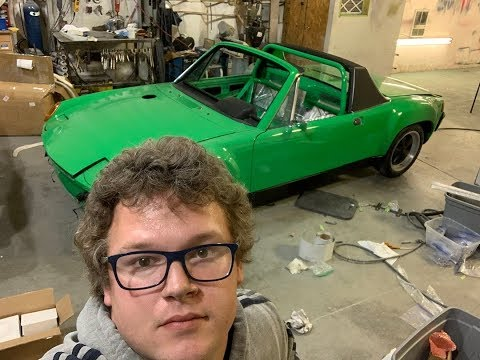 porsche 914 is finished!!! (almost)