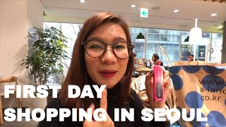 First Day Shopping in Seoul 🛍  | Seoul Fall 🍁  Day 1 Part 2 Vlog