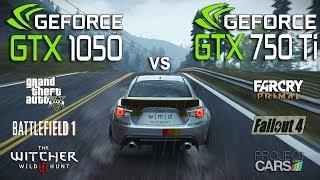 Обложка GTX 1050 Vs GTX 750 Ti Test In 6 Games I3 7100