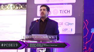 Muhammad Taimur Talpur, Minister Information Science & Technology, Government of Sindh