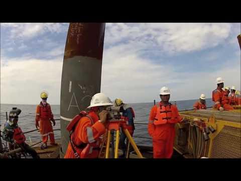 Offshore Platform Construction: Topside Module Installation