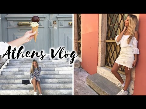 48 HOURS IN ATHENS, FALLING OFF A ROCK, SO MUCH FOOD | Travel Vlog | Scarlett London