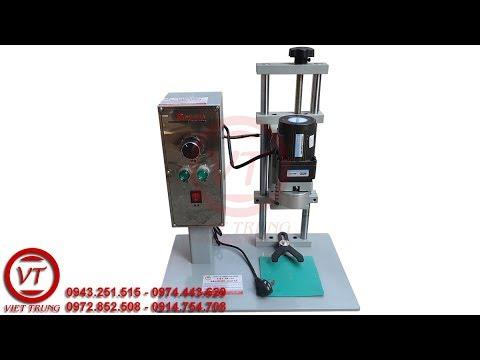Hưỡng dẫn sử dụng máy xoáy nắp chai | Công Ty TNHH Việt Trung