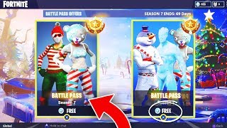 Fortnite SEASON 7 Battle Pass Bundle! - FORTNITE SEASON 7 BATTLE PASS FREE! (Free Season 7 Skins!)