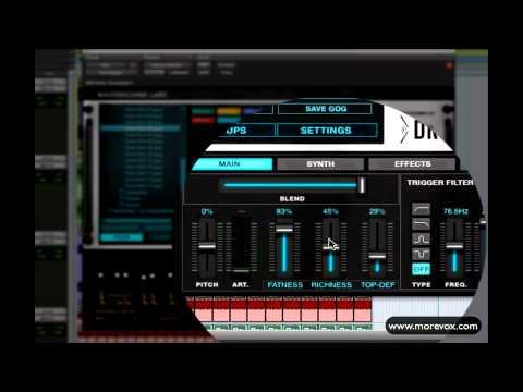 MoReVoX - DRIVEDRUMS V2 Multidrive