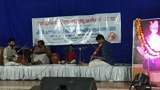 Aagney's first stage performance #karnatic music#
