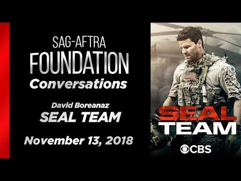 Conversations with David Boreanaz of SEAL TEAM