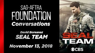 Conversations with David Boreanaz of SEAL TEAM