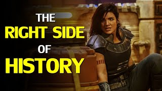 Gina Carano: On The Right Side Of History & Embodying The Values Of Star Wars