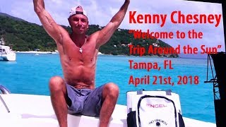 Kenny Chesney Welcome to the Trip Around the Sun Tour Tampa Florida
