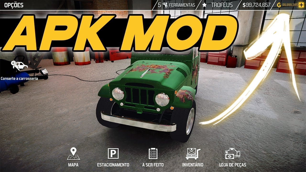 Car Mechanic Simulator 18 1 1 3 APK MOD / HACK [Infinite Money] - NO ROOT!