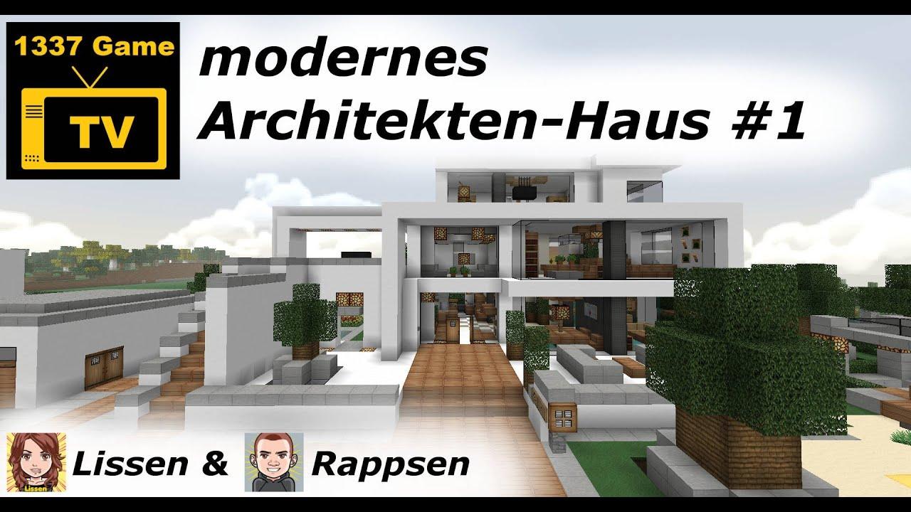 modernes Architekten-Haus #1 - YouTube