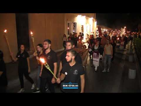 Rethymno: 17th Panhellenic Torch Relay of Volunteers Blood Donors (2019)