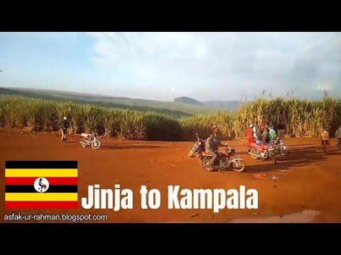 Uganda Travel Video: Jinja to Kampala by Bus | Mash  Bus | Uganda | Africa